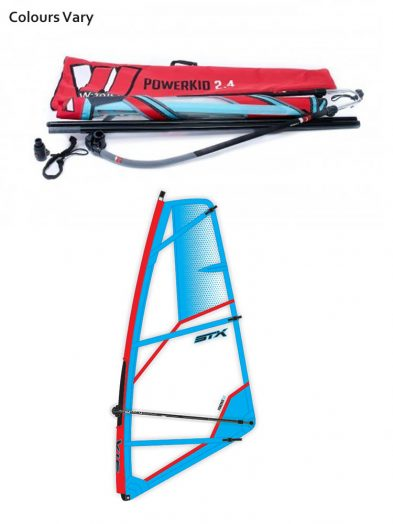 STX Pro Limit Powerkid Kids Windsurfing Rig Package