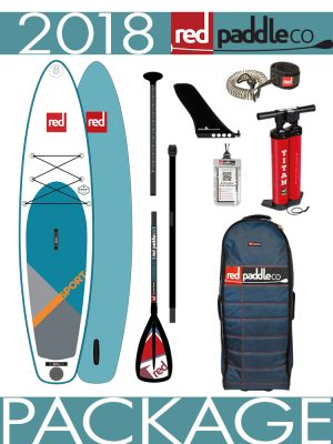 11'3 Sport 2018 Red Paddle Co Inflatable Isup Paddleboard