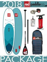 2018 Red Paddle Co 9'8 Ride inflatable paddleboard isup