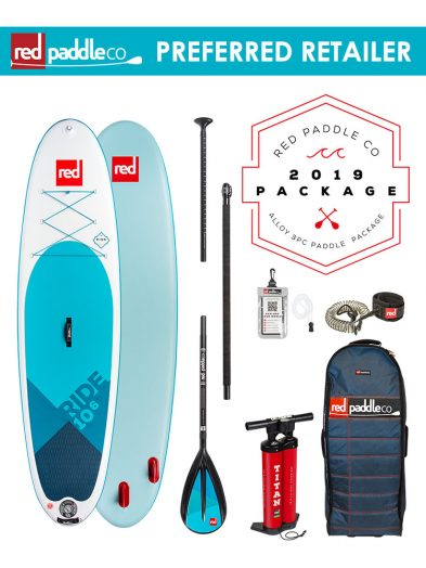 Red Paddle Co 10'6 Ride 2019 Inflatable Paddleboard Alloy
