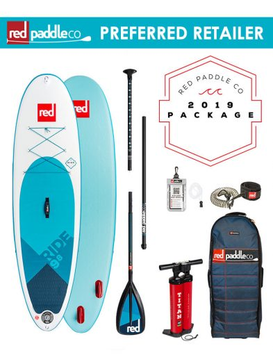 Red Paddle Co 2019 9'8 Ride Inflatable Paddleboard carbon nylon 2018