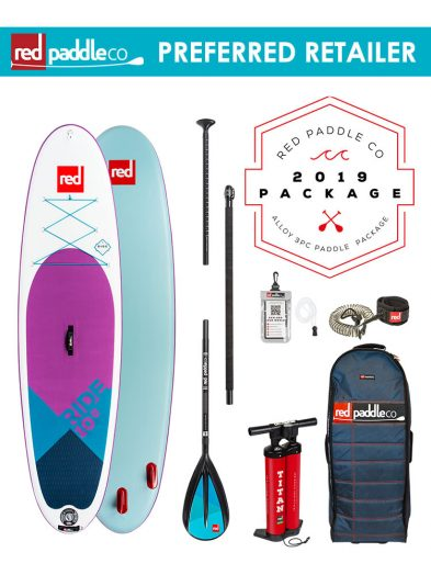 Red Paddle Co SE 10'6 Ride 2019 Inflatable Paddleboard Alloy