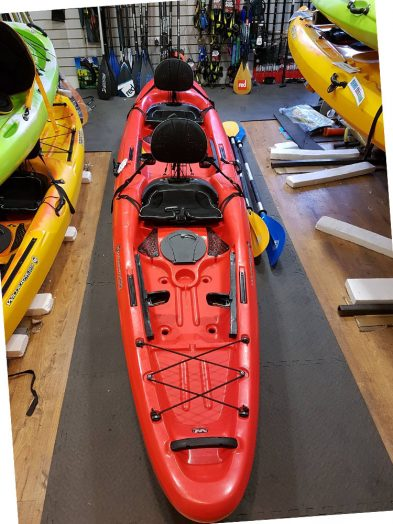 Second Hand Wilderness Tarpon 135T Double Sit On Top Kayak