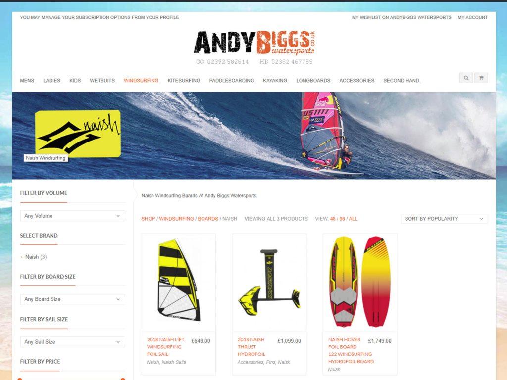Naish Hover 122 Windsurfing hydrofoil