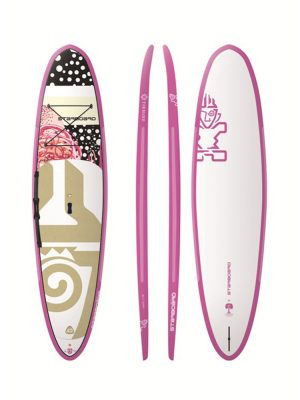 "10'8""x 31"" Starboard Go Starshot Dot Pink 2018 SUP Paddleboard"