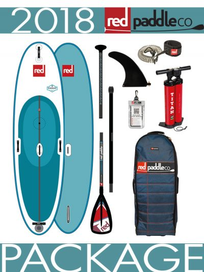 10'7 Windsurf 2018 Red Paddle Co Inflatable Isup Paddleboard