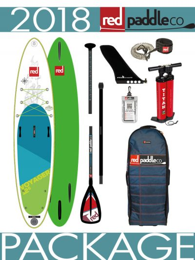 2018 Red Paddle Co 12'6 Voyager inflatable isup paddleboard aluminium package
