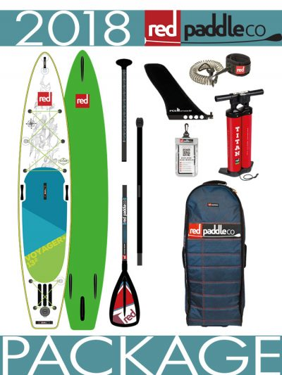 2018 Red Paddle Co 13'2 Voyager+ aluminium package