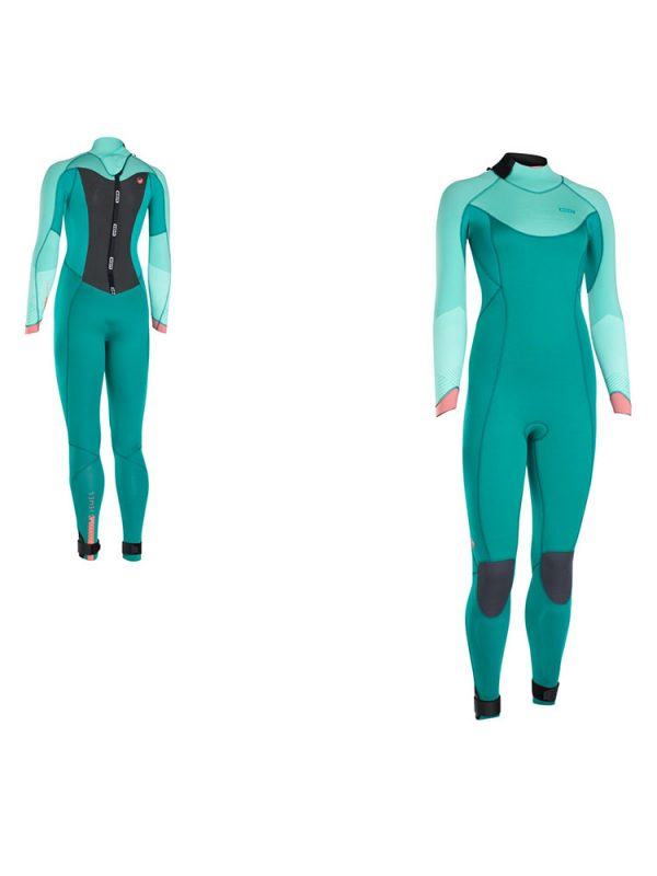 5.5/4.5mm ION Jewel Ladies Winter Wetsuit 2018 Pistachio/Emerald