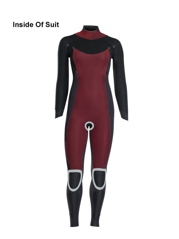 5.5,4.5mm ION Jewel Ladies Winter Wetsuit 2018 Inside of suit