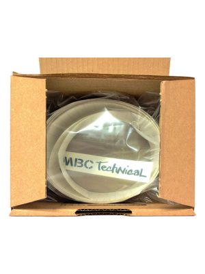 SUP Paddleboard / Windsurf Board Rail Tape by MBC Technical Transparent Laser Cut