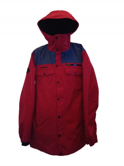 O'Neill Mens Snow Freedom Series Jacket Rio Red