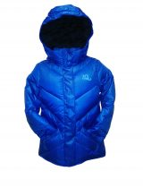 animal puffa ladies blue