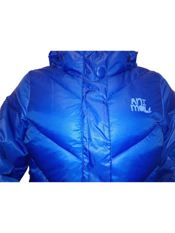 animal puffa ladies blue3
