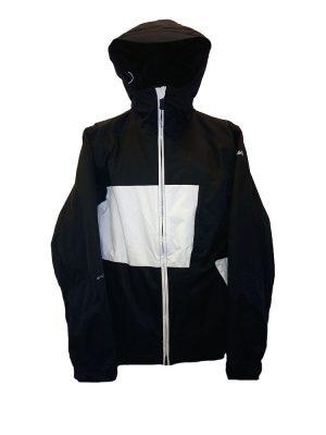 animal tech jacket black
