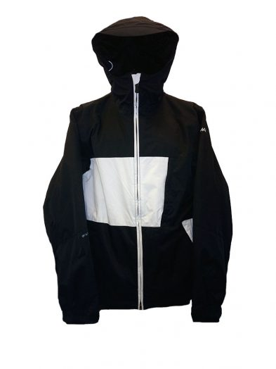animal tech jacket black