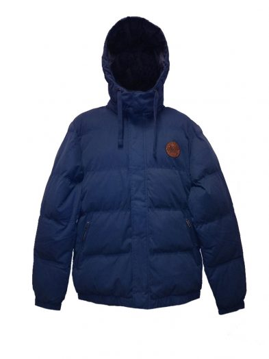 oxbow e2sepino puffa jacket navy mens