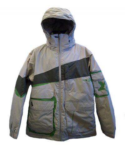 quicksilver pingo jacket tan