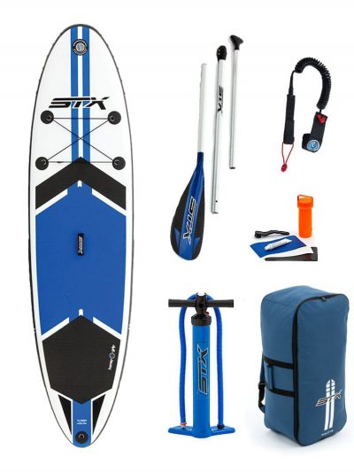"10'6""X 32"" STX 2018 INFLATABLE PADDLEBOARD SUP PACKAGE"