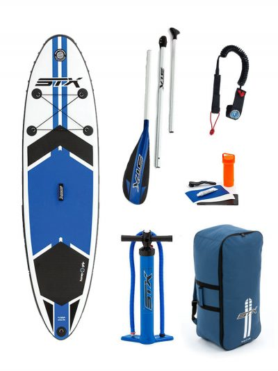 """9'8""""X 30"""" STX 2018 INFLATABLE PADDLEBOARD SUP PACKAGE"""