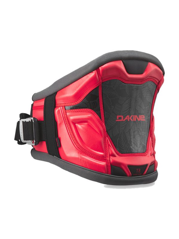 Dakine T8 Windsurfing Harness Red Stencil Palm