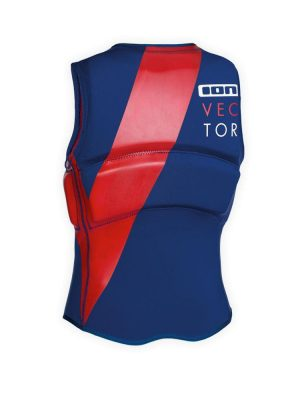 ION Vector FZ Impact Vest Blue.