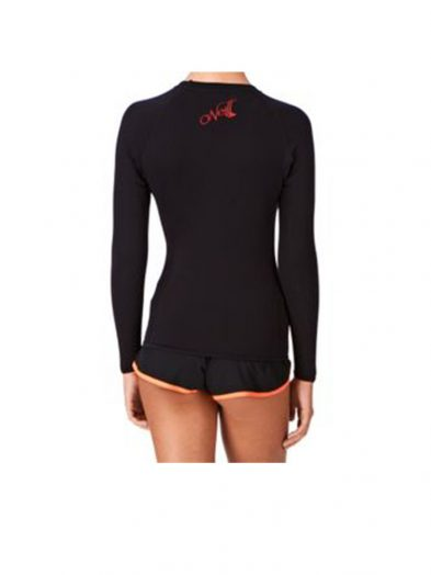 O'Neill Thermo X Long Sleeve Thermal Rashvest Ladies rear