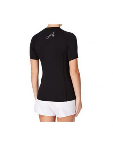 O'Neill Thermo X Short Sleeve Thermal Rashvest Ladies rear