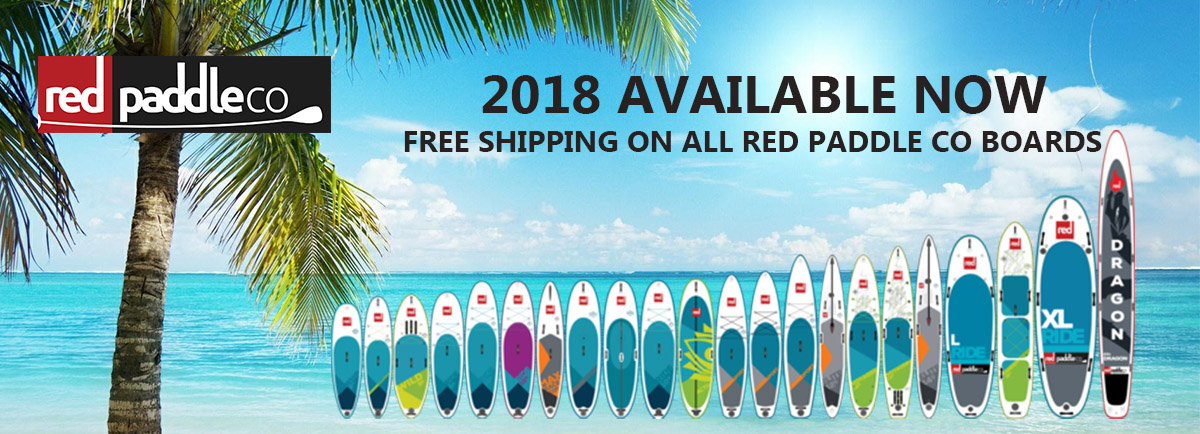 Red paddle co 2018 front page FREE SHIPPING