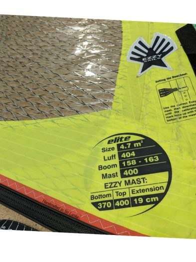 Second Hand Ezzy Elite 2014 4.7m Windsurfing Sail
