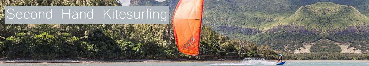 Second hand kitesurfing