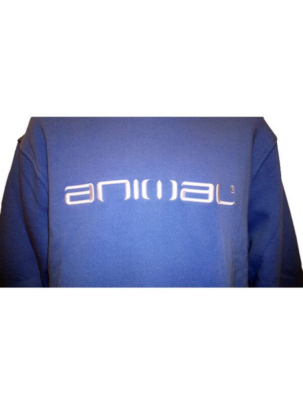 animal cl3wc058-z95 hoody china blue mens 2