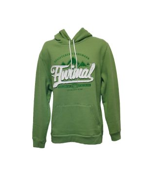 animal cl3wc060-z61 overhead hoody sage mens
