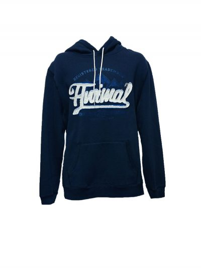 animal cl3wc060-z89 overhead hoody indigo mens