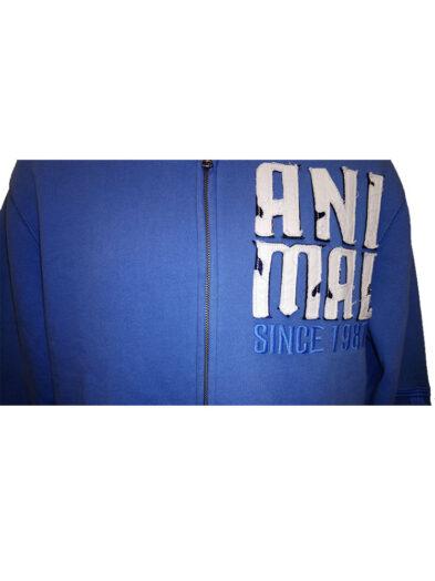 animal cl3wc067-z95 china blue hoody mens 2