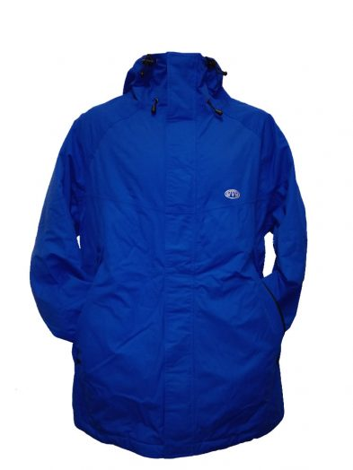animal tc3wc003 jacket cobalt mens