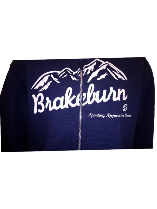 brakeburn mountain full zip hoody navy mens