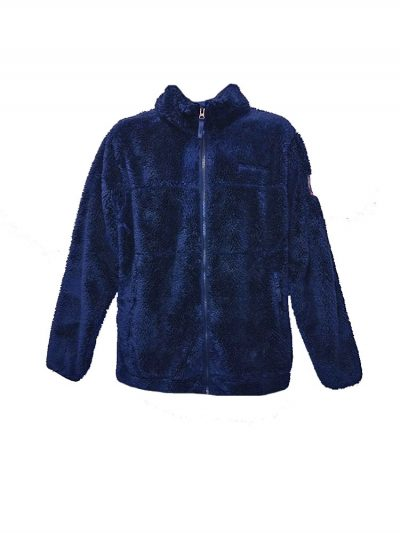 animal cl3wc122-z89 full zip fleece indigo mens