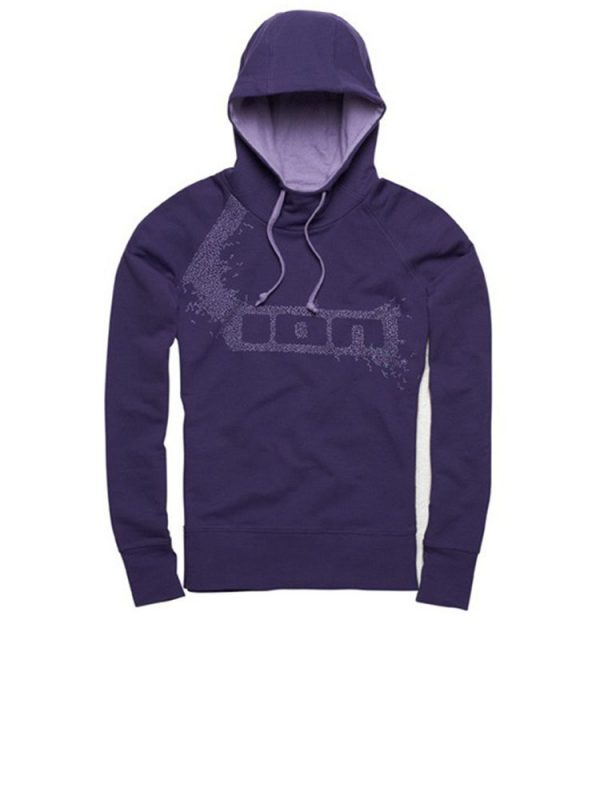 ion no brainer overhead hoody grape ladies