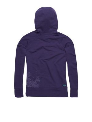 ion no brainer overhead hoody grape ladies 2