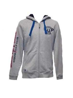 oxbow h1swen grey hoody mens