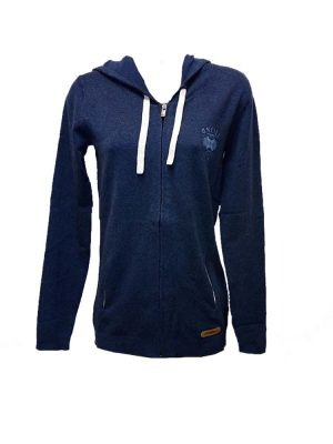 o'neill 306205 atlantic aerialpullover hoody blue ladies