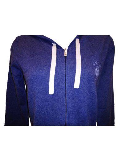 o'neill 306205 atlantic aerialpullover hoody blue ladies 2