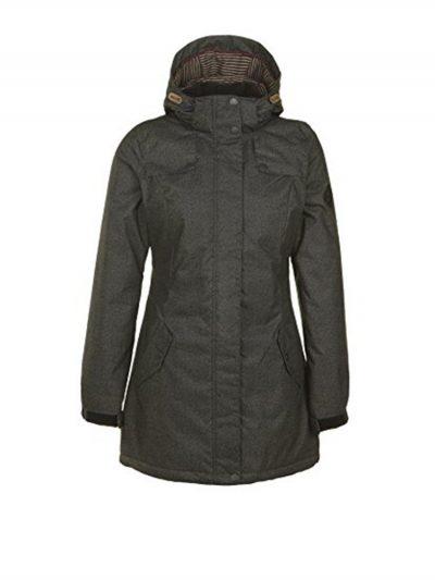 oneill 355112 adv woods jacket dark melee ladies