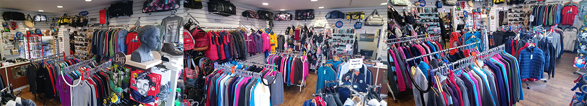 Andy Biggs Watersports Clothing Fashion Shop Sale