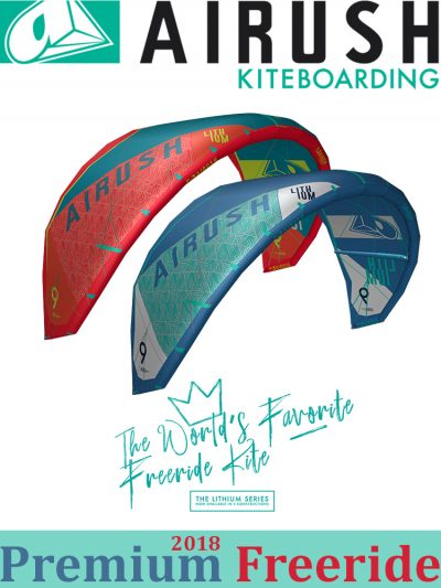2018 Airush Lithium Core Kitesurfing Kite Freeride