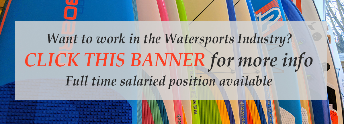 Andy Biggs Watersports Job Vacancy