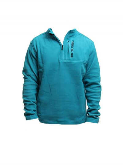 animal cl4we112-z91 zip fleece teal mens