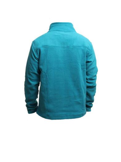 animal cl4we112-z91 zip fleece teal mens 2