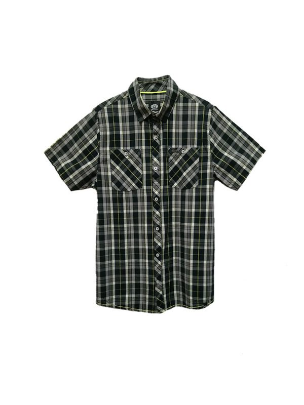 animal cl5sg113 short sleeved shirt mens